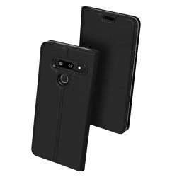 Puzdro Dux Ducis Skin pre LG G8 ThinQ čierne.