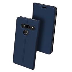 Puzdro Dux Ducis Skin pre LG G8 ThinQ modré.