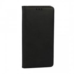 Puzdro Smart Magnet pre Motorola Moto E6 Plus čierne.
