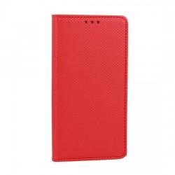 Puzdro Smart Magnet pre Motorola Moto E6 Plus červené.