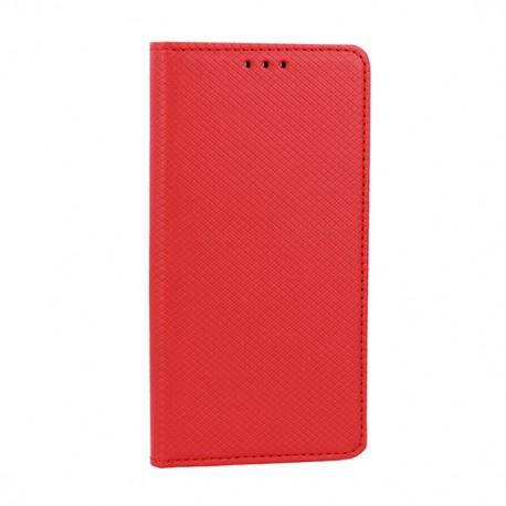 Puzdro Smart Magnet pre Lenovo Moto E6 Plus červené.