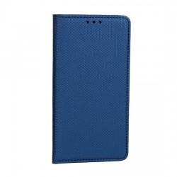 Puzdro Smart Magnet pre Motorola Moto E6 Plus modré.