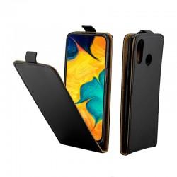 Puzdro Flip pre Samsung Galaxy A30 čierne.