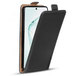 Puzdro Flip Vertical pre Huawei Mate 30 čierne.