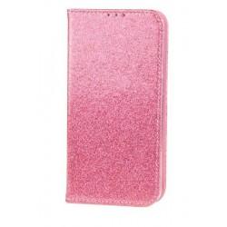 Puzdro Glitter pre Huawei P30 Lite ružové.