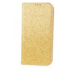 Puzdro Glitter pre Motorola Moto G6 zlaté.