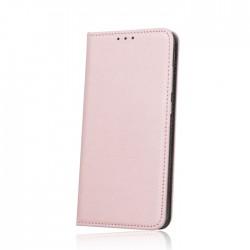 Puzdro Smart Magnet pre Huawei P30 Lite ružovo-zlaté.