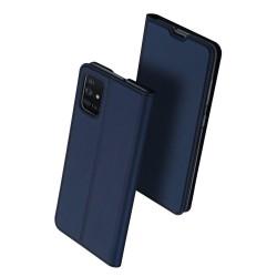 Puzdro Dux Ducis Skin pre Samsung Galaxy A71 modré.