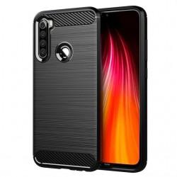 Kryt Carbon pre Xiaomi Redmi Note 8T čierny.