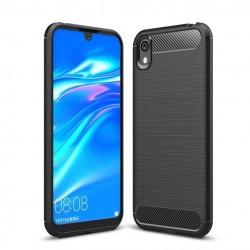 Kryt Carbon pre Huawei Y5 2019 čierny.