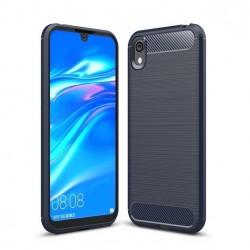 Kryt Carbon pre Huawei Y5 2019 modrý.