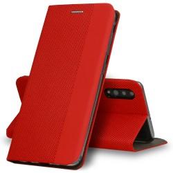 Puzdro Sensitive pre Huawei P Smart Pro 2019 červené.