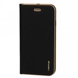 Puzdro Vennus s rámom pre Huawei Y6P čierne.