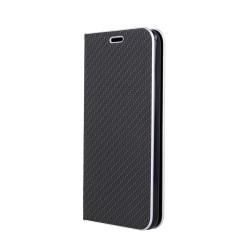 Puzdro Vennus Carbon pre Samsung A215F Galaxy A21 čierne.