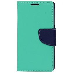 Puzdro Fancy pre Xiaomi Redmi 9 mätovo-modré.
