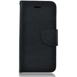 Puzdro Fancy pre LG K61 čierne.