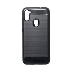 Kryt Carbon pre Samsung A115 Galaxy A11 čierny.