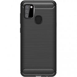 Kryt Carbon pre Samsung A217 Galaxy A21 čierny.