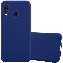 Kryt Candy pre Samsung A405 Galaxy A40 modrý.