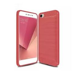 Kryt Carbon pre Xiaomi Redmi Note 5A červený.