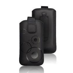 Puzdro nasúvacie na opasok Deko čierne (rozmer 156,5x84,5mm).