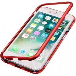 Kryt Magnet Glass pre Samsung Galaxy A71 červené.