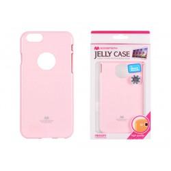 """Silikónové puzdro Mercury Jelly pre Iphone 7 (4,7"""") svetloružové"""