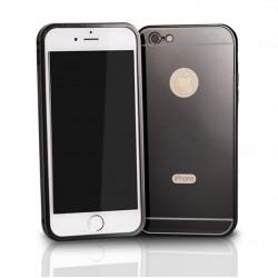Hliníkový kryt ALU Bumper Lustro pre Samsung A500 Galaxy A5 čierny