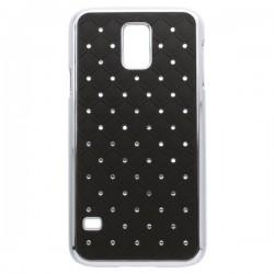 Summer pack gumové puzdro s ochrannou fóliou pre Samsung Galaxy S5 fialové