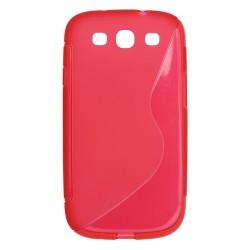 Obal Candy case slim 0,3mm pre Samsung Galaxy S3 mini tyrkysový