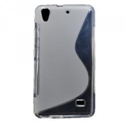Silikónový kryt Candy Case slim 0,3mm pre Huawei Ascend Y6 čierny