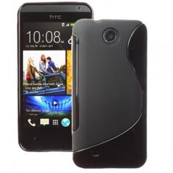 Obal na telefón HTC Obe Mini čierny