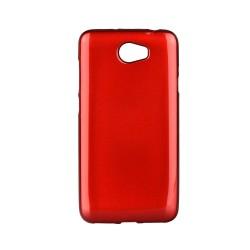 Kryt Jelly Case Flash pre Lenovo Vibe C červený.