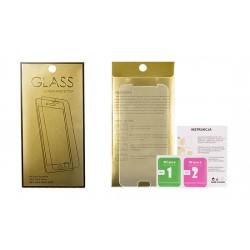 Tvrdené sklo Glass Gold pre Samsung J327P Galaxy J3 (2017 priehľadné).
