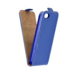 Flipové puzdro Slim Flexi Fresh Vertikálne pre Huawei P9 Lite modré