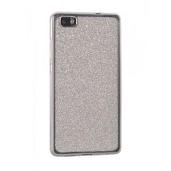 Kryt Glitter Case Elektro pre Huawei P9 Lite strieborný.