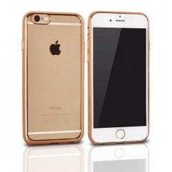 Kryt Clear pre LG K5 (X220) zlatý.