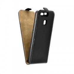 Puzdro kapsa s vertikálnym zapínaním Pocket/Flexi slim pre Huawei P 9 (Eva-L09) čierne