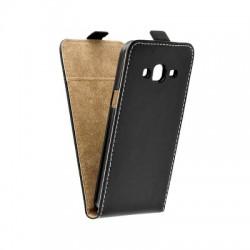 Puzdro kapsa s vertikálnym zapínaním Pocket/Flexi slim pre Samsung J320F Galaxy J3 čierne
