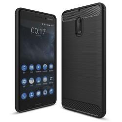 Kryt Carbon TPU pre Nokia čierny.