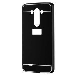 Kryt hlinikový mirror pre LG G3 čierny.