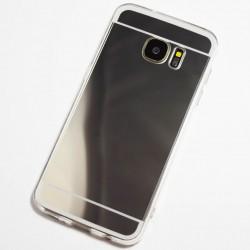 Kryt mirror pre Samsung G928 Galaxy S6 Edge Plus čierny.