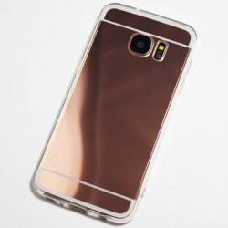 Kryt mirror pre Samsung G928 Galaxy S6 Edge Plus ružový.
