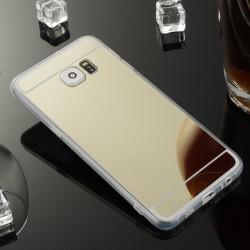 Kryt mirror pre Samsung G928 Galaxy S6 Edge Plus zlatý.