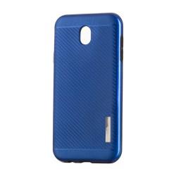 Kryt Carbon Slim Armor pre Samsung J330 Galaxy J3 (2017) modrý.