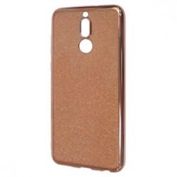 Kryt Glitter pre Huawei Mate 10 Lite ružovo-zlatý.