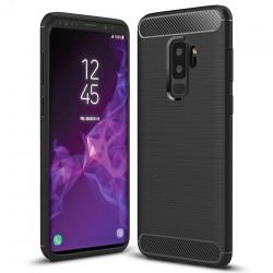 Kryt Carbon pre Samsung G965 Galaxy S9 Plus čierny.
