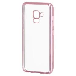 Kryt clear pre Samsung A530 Galaxy A5 (2018)/ A8 (2018) ružový.