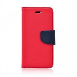 Knižkové puzdro Fancy pre Lenovo Moto G5s Plus červeno-modré.