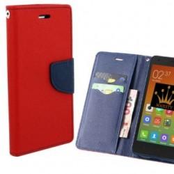 Knižkové puzdro Fancy pre Sony Xperia XA2 Ultra červeno-modré.